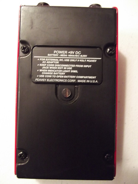 peavey hotfoot distortion hfd 2 usa made guitar effects pedal reverb. Black Bedroom Furniture Sets. Home Design Ideas