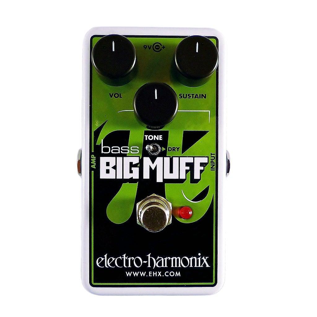 Electro-Harmonix EHX Bass Big Muff Nano Distortion / Sustainer Effects Pedal