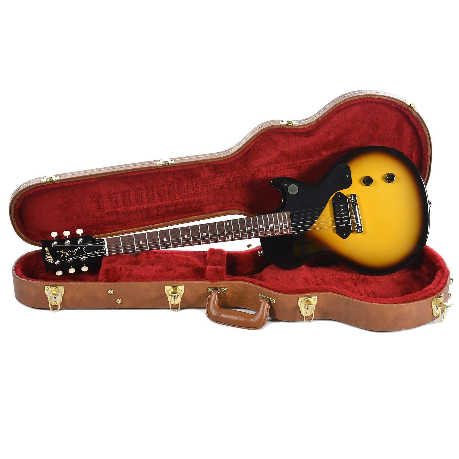 Gibson Usa Les Paul Junior 2018 Vintage Sunburst Classic Plus Electric Guitar The