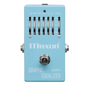 Maxon GE601 Graphic Equalizer Pedal for sale