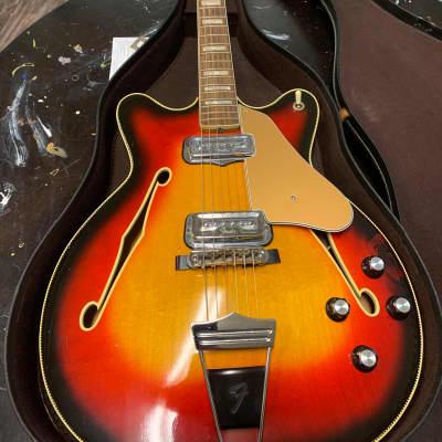 Fender Coronado II 1966 Burst