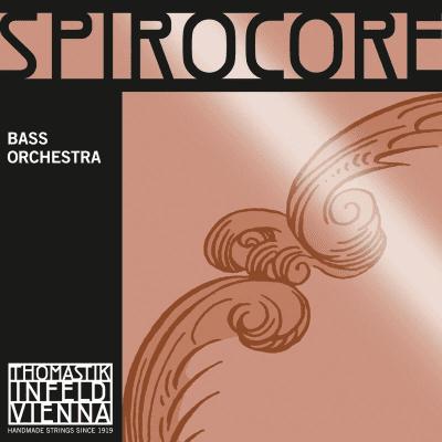 Thomastik-Infeld 3885.0 Spirocore Chrome Wound Spiral Core 3/4 Double Bass Orchestra String Set - Medium