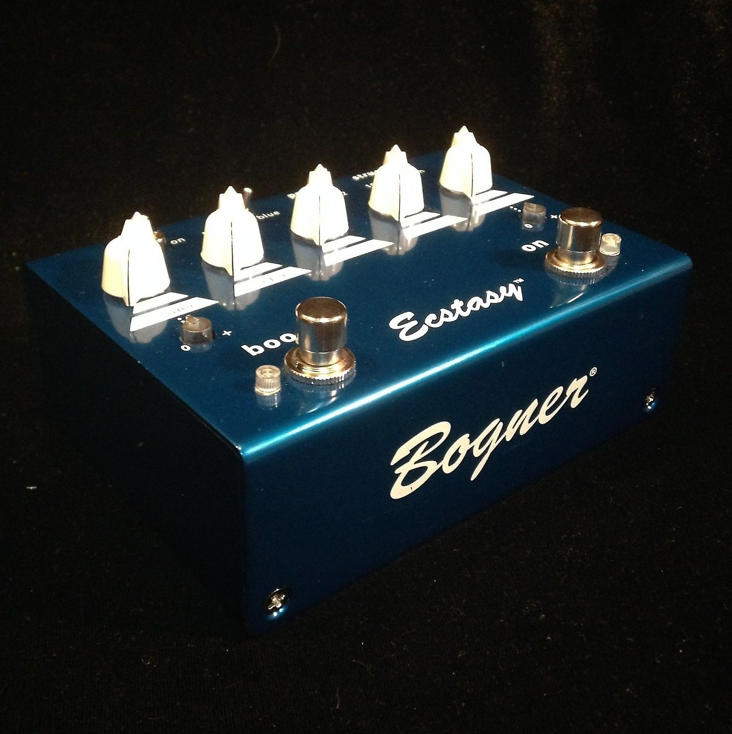 closer at well known cheap prices Bogner Ecstasy Overdrive Blue | Reverb