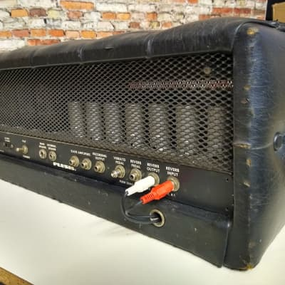1970's Plush PRB 1000 S tube amp Head for sale