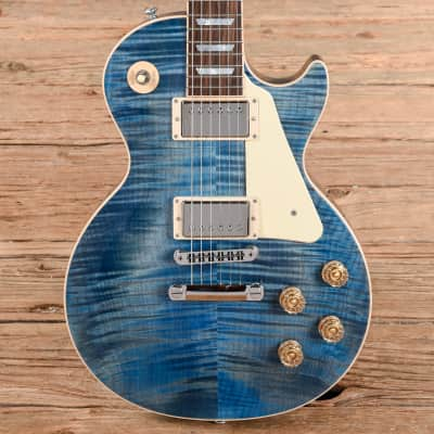 Gibson Les Paul Traditional Ocean Blue 2015 (s841) image