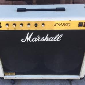 Marshall JCM 800 Lead Series Model 4104 50-Watt Master Volume 2x12 Combo