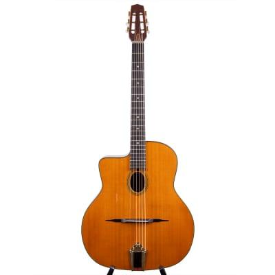 Favino Gypsy Jazz-Gitarre von Anton Sandner 2021 Linkshänder for sale