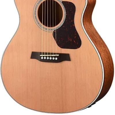 Walden G770CE Natura All-Solid Cedar/Mahogany Grand Auditorium Acoustic Cutaway-Electric Guitar - Satin Natural for sale