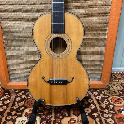 Vintage Antique 19th Century Handmade Panormo Parlour Rosewood Acoustic Guitar for sale