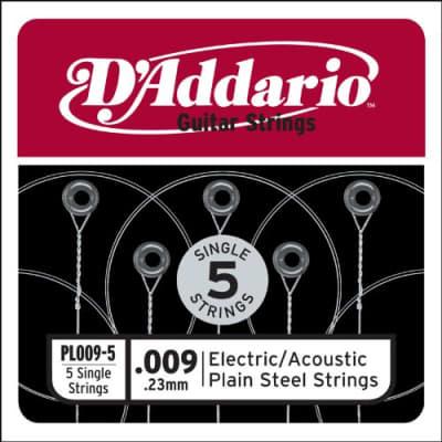 D'Addario PL009-5 strings