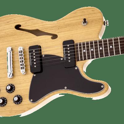 NEW! Fender Jim Adkins JA-90 Telecaster Thinline Natural Ash Finish - Authorized Dealer