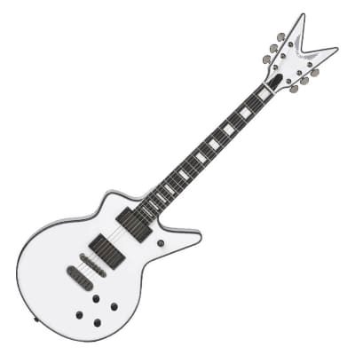 Dean Cadillac 1980 Classic White Flat Top DMT Design Electric Guitar for sale