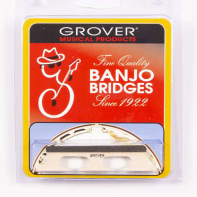 Genuine Grover Bridge for 5 String Banjo, Leader 5/8 inch