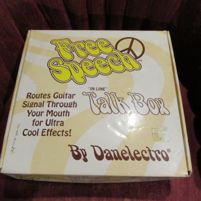 Danelectro Free Speech Talk Box NOS for sale