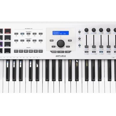 Arturia KeyLab 49 MK2 Keyboard Controller - White