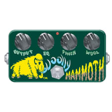 Zvex Woolly Mammoth Bass Fuzz Pedal