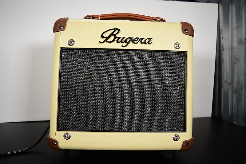 bugera bc15 15w 1x8 vintage tube guitar combo amp cream reverb. Black Bedroom Furniture Sets. Home Design Ideas