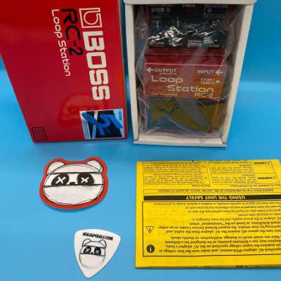 Boss RC-2 Loop Station w/Original Box   Fast Shipping!