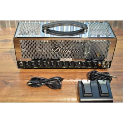 Bugera T50 Infinium 50 Watt 2 Channel & Reverb All Tube Guitar Head Amplifier