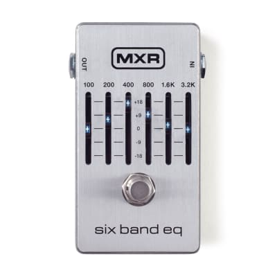 MXR M109S Six Band EQ Effect Pedal for sale