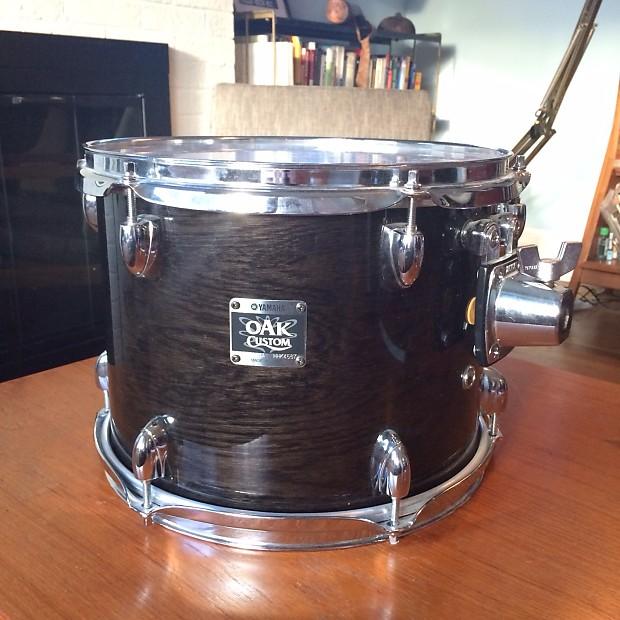yamaha oak custom 12 x 9 rack tom musashi black yess reverb. Black Bedroom Furniture Sets. Home Design Ideas