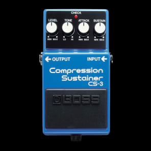 Boss Roland CS3 Compression Sustainer Guitar Pedal