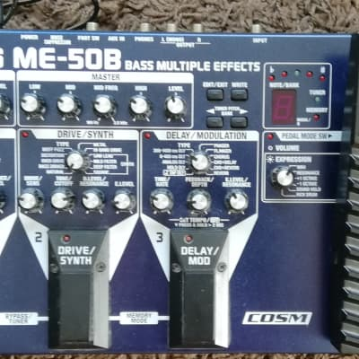 BOSS ME-50 B Blau/Silber for sale