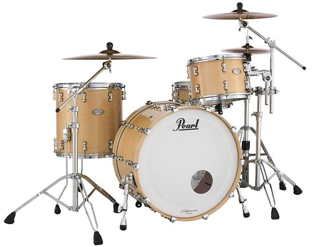 pearl reference pure series 3pc shell pack natural maple reverb. Black Bedroom Furniture Sets. Home Design Ideas