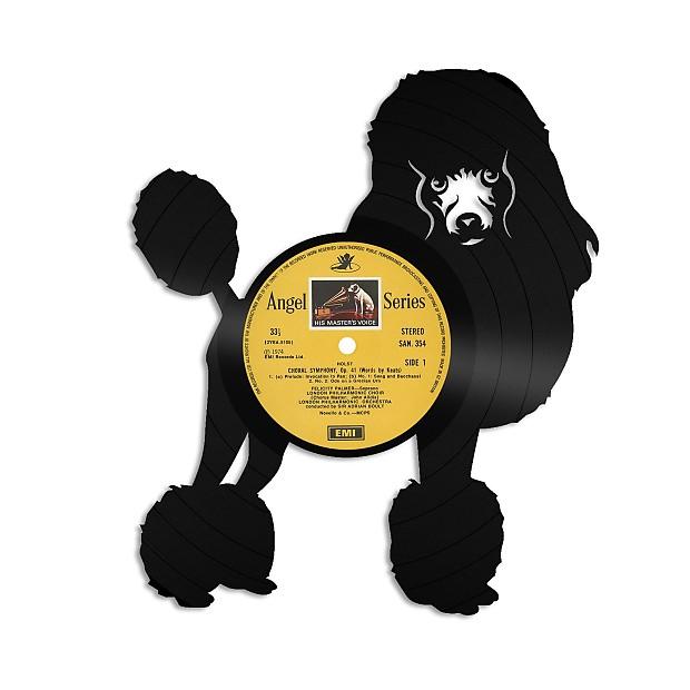Poodle Vinyl Wall Art - Natural black / NO Framed   Reverb