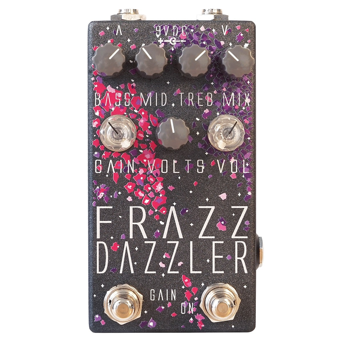 Dr. Scientist Frazz Dazzler V2 Dual-Channel Agressive Fuzz Effects Pedal