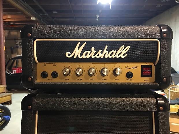 Marshall Lead 12 Mini Stack! - Classic British sound! Collectors Item!