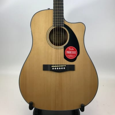 Fender CD-60SCE with Electronics 2019 Natural