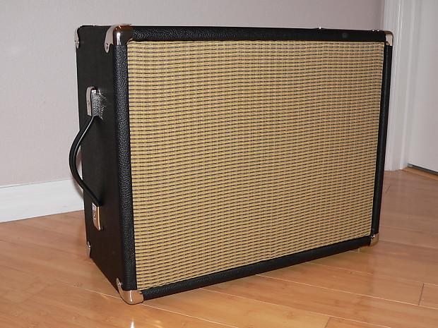 1x12 4 ohm custom jensen 100w guitar speaker cabinet with reverb. Black Bedroom Furniture Sets. Home Design Ideas
