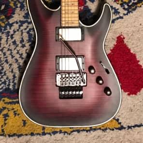 Schecter Hellraiser Extreme C-1 FR M w/ Floyd Rose Crimson Red Burst Satin w/ Maple Fretboard