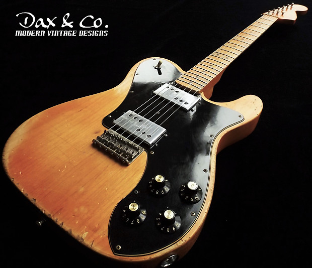 a738996752b Fender Telecaster Deluxe '72 Re-issue Dax&Co. Relic!   Reverb