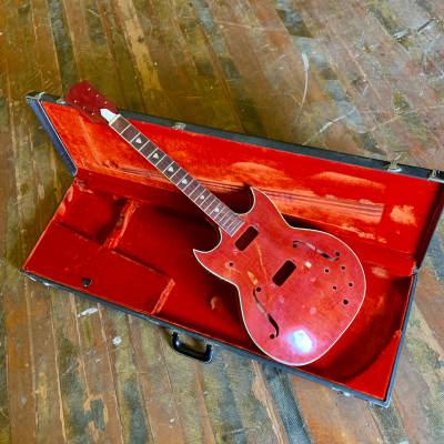 Kay Red Devil body neck project husk c 1960 original vintage USA project