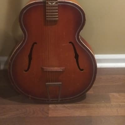 Regal Regal Archtop Acoustic 1950-1970 1950-1970 Sunburst for sale