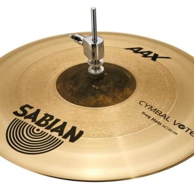"Sabian 14"" AAX Freq Hi-Hat Cymbals"