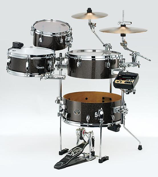 tama vk46cbcrhmgd ltd ed silverstar cocktail jam kit roland reverb. Black Bedroom Furniture Sets. Home Design Ideas
