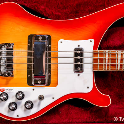 Rickenbacker  4003 Fireglo 4-String Bass