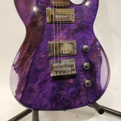 "Island Grove Guitars Purple ""T"" Type Electric Guitar"