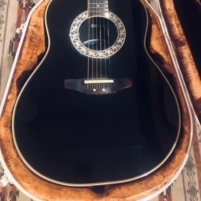 Ovation 1627 Balladeer Glen Campbell 1983 Black/Gold for sale