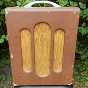 Bronson Melody King 1949 Tube Amp Brown for sale