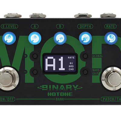 Hotone Binary Mod CDCM Modulation Effects Pedal BME-1 for sale