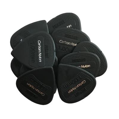 10 Pack   Pickboy Carbon / Nylon Guitar Picks  1.0mm   Heavy