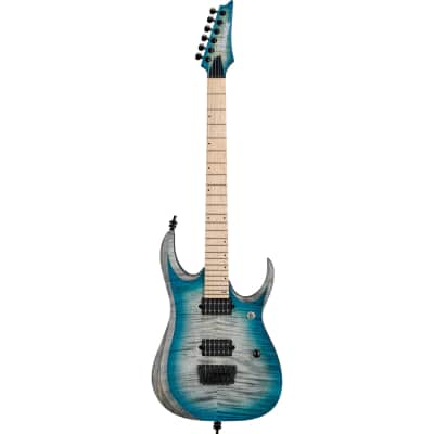 Ibanez RGD61AL-SSB Axion Label Stained Sapphire Blue Burst 2019