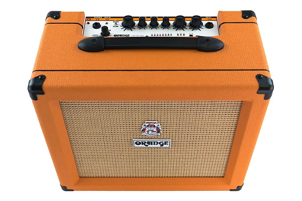orange crush cr35rt 35 watt 1x10 guitar combo with reverb and reverb. Black Bedroom Furniture Sets. Home Design Ideas