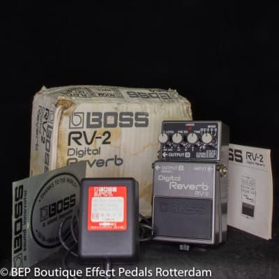 Boss RV-2 Digital Reverb 1988 s/n 876391 Japan