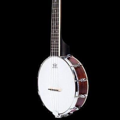 Ohana CK-120BUC Concert Scale Banjo Uke Ukulele + Gig Bag -  Banjolele - Blem