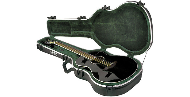 skb thin line ae classical deluxe guitar case reverb. Black Bedroom Furniture Sets. Home Design Ideas